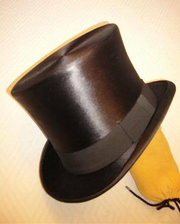 6ab7f898236 A new silk plush top hat made by Silk Top Hats.